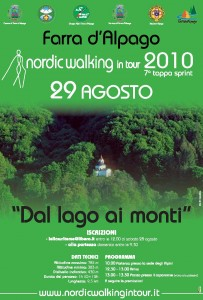 NORDIC WALKING IN TOUR 2010